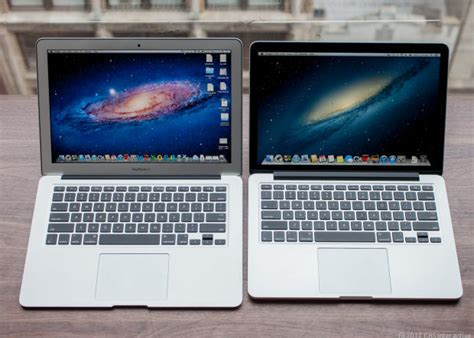 Macbook Pro With Retina Display Versus Macbook Air Which