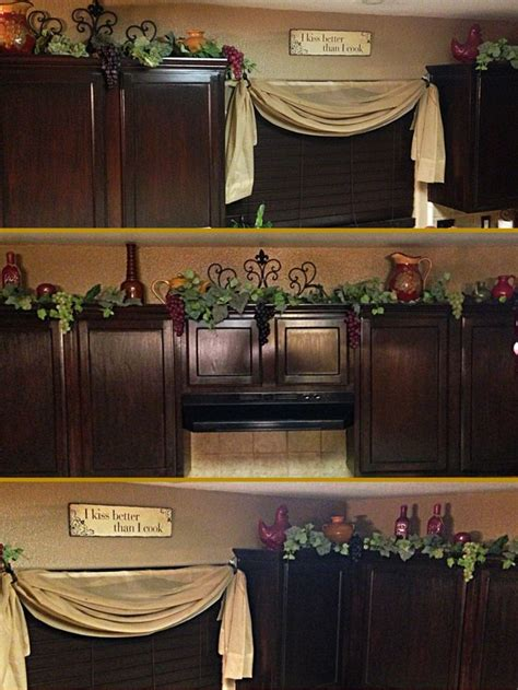 grapes kitchen decor design on vine