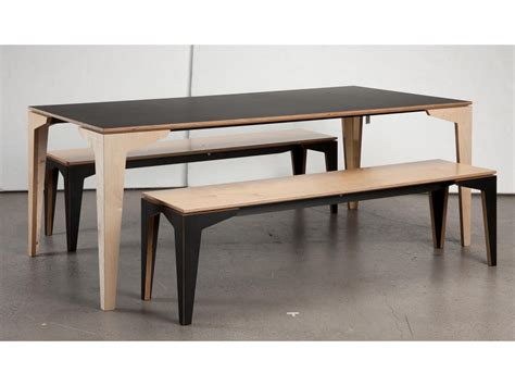 kitchen table with bench seating floating table bench