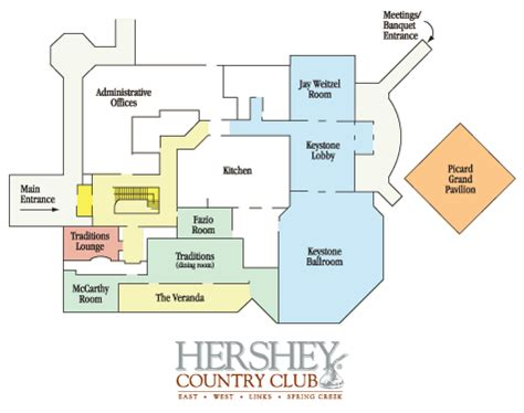 country club floor plans hershey resorts gt floor plans for hershey country club