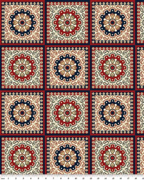 benartex spangled bandanna quilt fabric by the yard