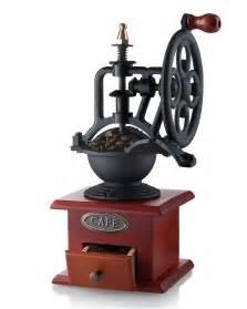 Crank Coffee Grinder Gourmia Gcg9315 Manual Coffee Grinder Antique Cast Iron