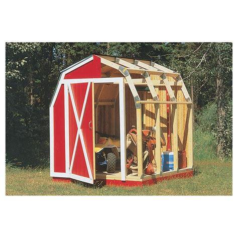 quick framer universal storage shed framing kit gambrel