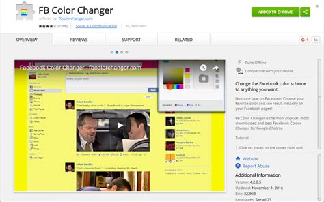apply facebook themes google chrome how to change facebook s default theme to any color you