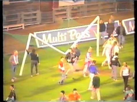 rwdm anderlecht belgian goalposts demolition rsca rwdm 1991
