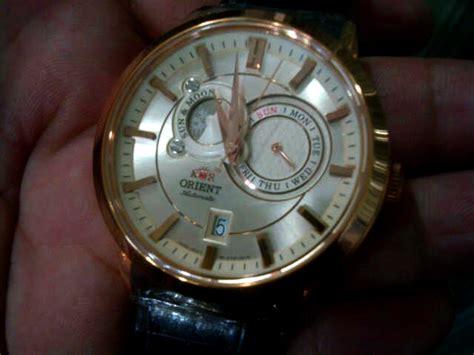 Jam Tangan Golden Moon jam tangan 4 u orient sun moon automatic gold bnib