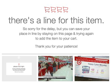 target fans on sale target com fans met with disappointment during cyber