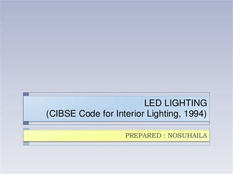 Cibse Code For Interior Lighting Free led lighting cibse code for interior lighting 1994