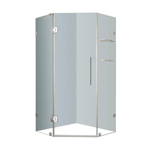 34 Inch Corner Shower Kit by Aston Neoscape 34 Inch X 34 Inch X 72 Inch Frameless