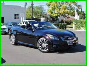 2012 Infiniti For Sale 2012 Infiniti G37 Rear Wheel Drive Convertible For Sale