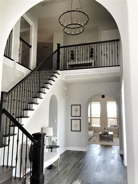 foyer paint colors sherwin williams pretty foyer love the tiered chandelier paint color is
