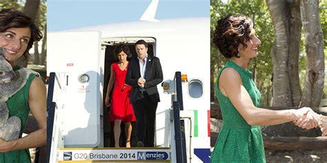 dall agnese deutschland g20 australia agnese renzi illumina di tricolore brisbane