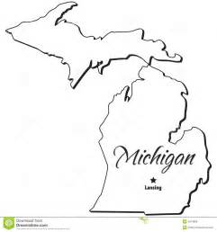 Printable Outline Of Michigan by State Of Michigan Printable Calendar Calendar Template 2016