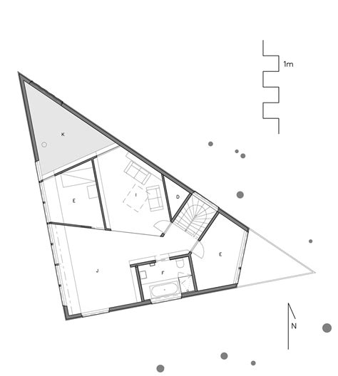 triangular floor plan architecture photography 1411964605 plan 2 1 200 triangle house 3783