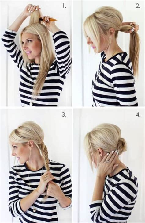 fast fab 10 easy updos that will everyone