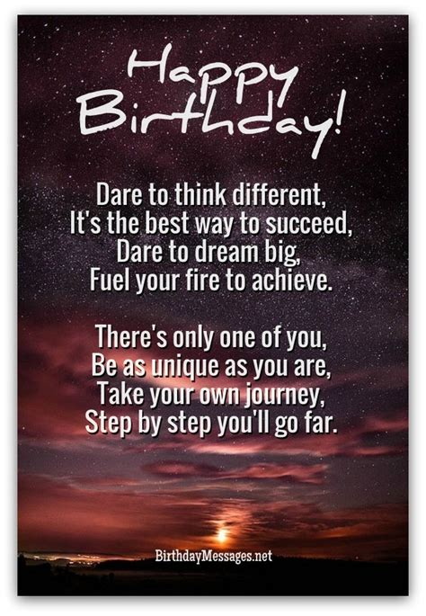 Birthday Quote Inspirational Inspirational Birthday Quotes Like Success