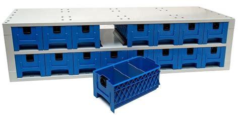 cassetti estraibili cassettiere multibox in plastica per allestimento furgoni