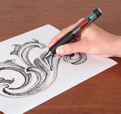 tattoo pen zwart the pointillist artist s electronic pen technabob