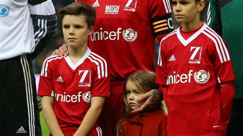 romeo james beckham football david beckham s family which of his kids could follow in