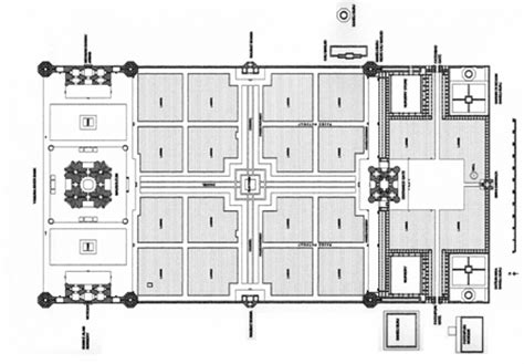 floor plan of taj mahal taj mahal plan
