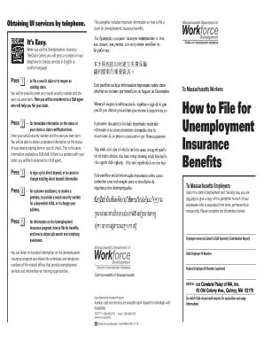 massachusetts unemployment assistance
