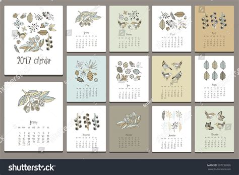 edit doodle calendar edit vectors free floral gentle editor