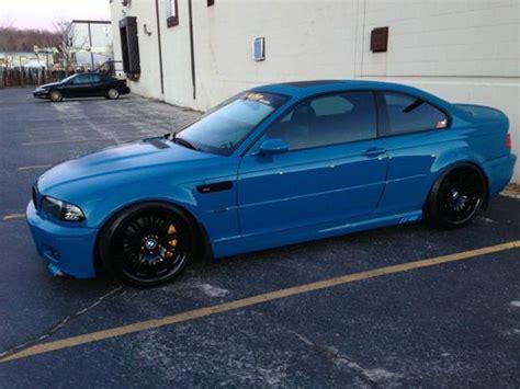 Bmw E46 1999 2002 Clear Type Side L purchase used 2002 bmw m3 coupe 2 door 3 2l laguna seca blue custom e46 m5 m6 745li 750li in