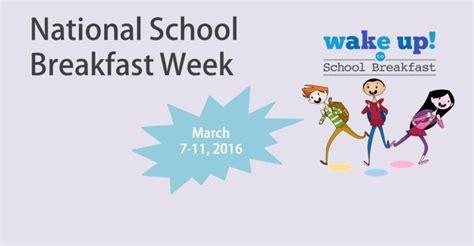 National Backyard Week 2016 National School Breakfast Week 2016 News And