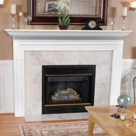 Wood Mantels For Fireplace by Ideas Paint Ideas Fireplace Mantel Clock With Alarm