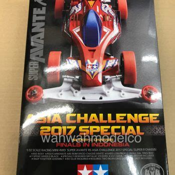 Tamiya Mini 4wd Avante Rs Asia Challenge 2017 mini 4wd car kit archives page 2 of 7 wah wah model shop