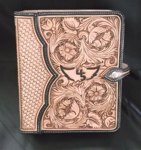 Handmade Cover - crafted custom leather notebooks and binders by