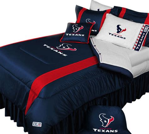 texans bed set nfl houston texans football bed comforter set