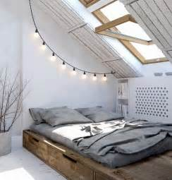 Loft Bedroom Ideas by 70 Cool Attic Bedroom Design Ideas Shelterness