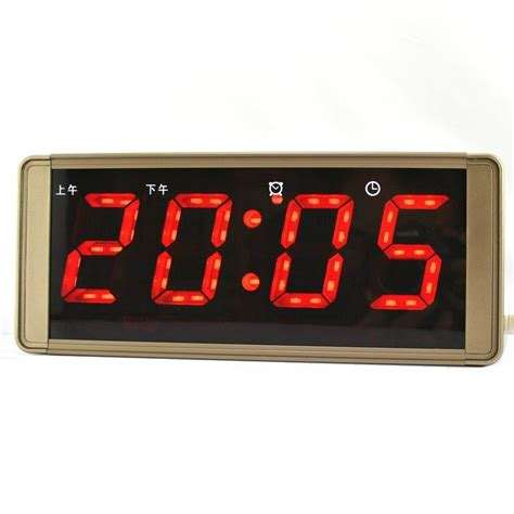 horloge murale affichage digital alarme horloge num 233 rique horloge murale horloge affichage de la temp 233 rature lumineuse
