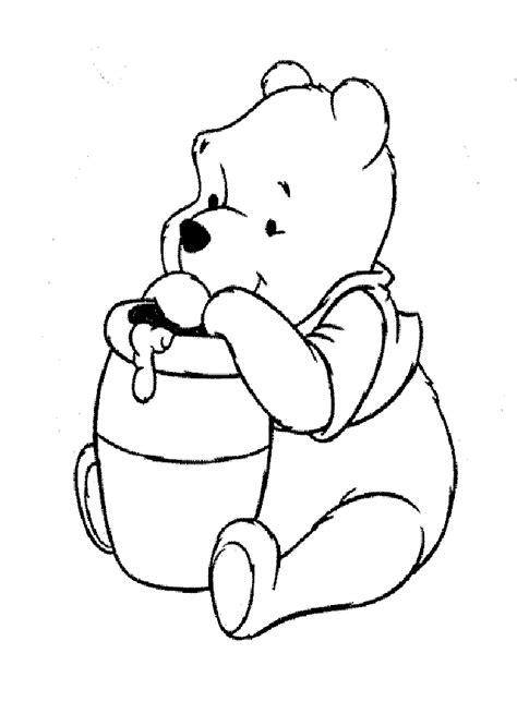 imagenes de winnie the pooh bebe para colorear dibujos para pintar winnie the pooh dibujos para colorear