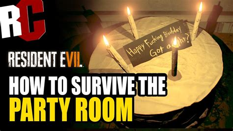 resident evil 7 how to survive room in the story not