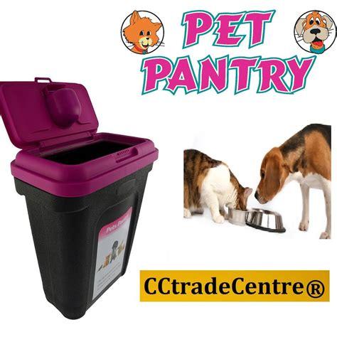 Cat Co Wellness Kitten 15kg pet cat animal 15kg food container storage box 25 kg bird seed pink ebay