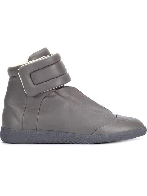maison margiela sneakers mens maison margiela v sneakers in gray for grey