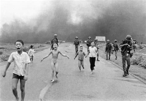 the historic 'napalm girl' pulitzer image marks its 40th