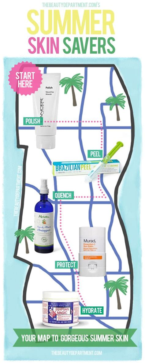 How To Salvage Your Summer Skin by 17 Best Images About Summer Skin Care On