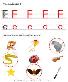 identify words that start with e worksheet turtle diary
