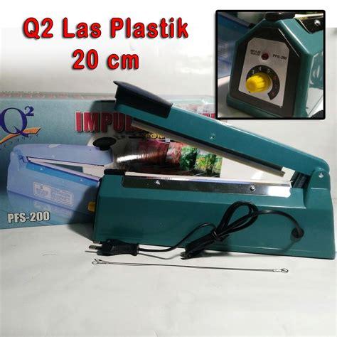 Alat Perekat Plastik Kemasan Di Bandung jual q2 impulse sealer 8200 20 cm alat press plastik