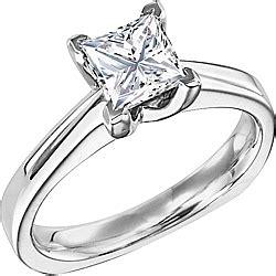 diana solitaire princess cut engagement ring d n101