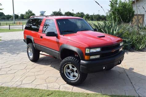 old car manuals online 1994 chevrolet blazer on board diagnostic system 1994 chevy trail blazer custom for sale chevrolet blazer 1994 for sale in coppell texas