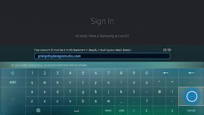 2 Samsung Accounts How To Sign Into Your Samsung Account On Your 2016 Uhd Tv Un Ku