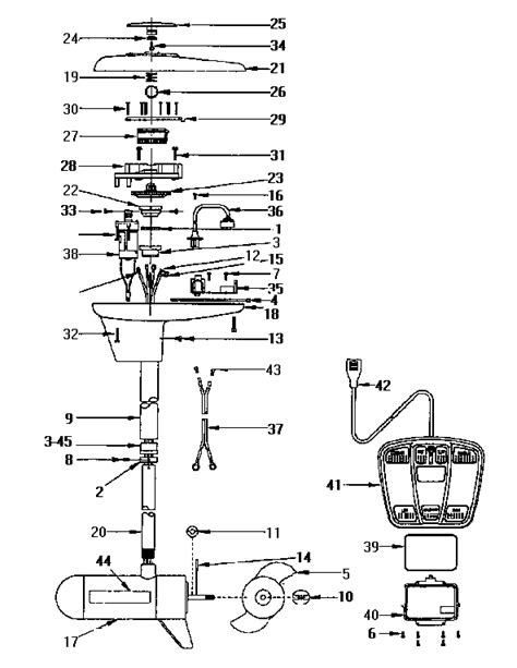 parts of a boat engine diagram engine assembly diagram parts list for model 219585380