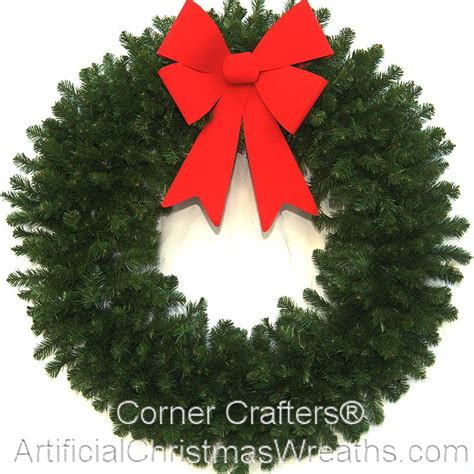 48 inch deluxe christmas wreath without lights