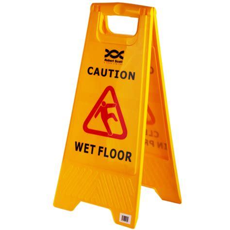 Wet Floor Hazard Warning Safety Signs Offices