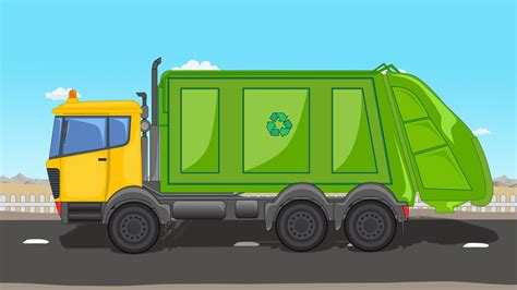 garbage trucks for kids garbage truck truck for kids kids vehicles youtube