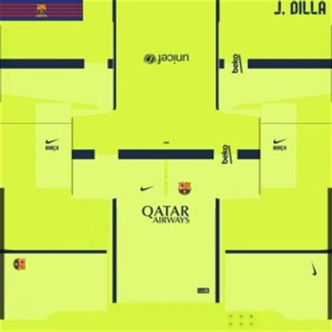 pes 2014 fc barcelona 14/15 third kit by j dilla pes patch